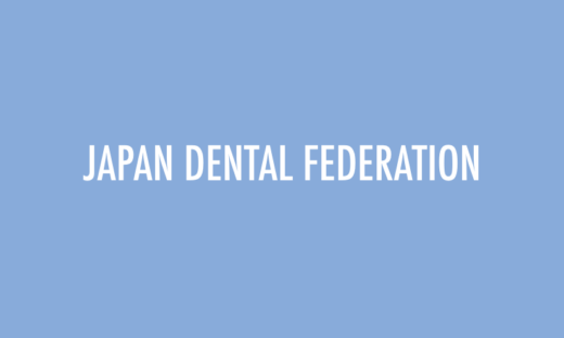 JAPAN DENTAL FEDERATION back board